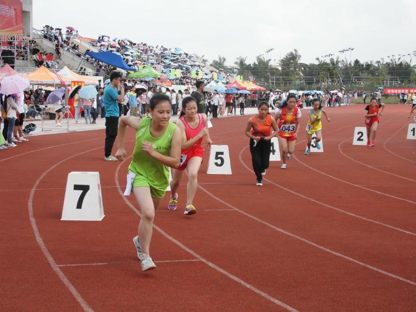 激情赛场  青春飞扬――外国语学院在第三十一届校运动会中勇创佳绩
