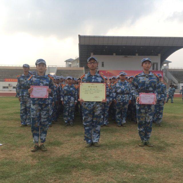 教育科学学院在军训表彰大会中荣获队列评比一等奖