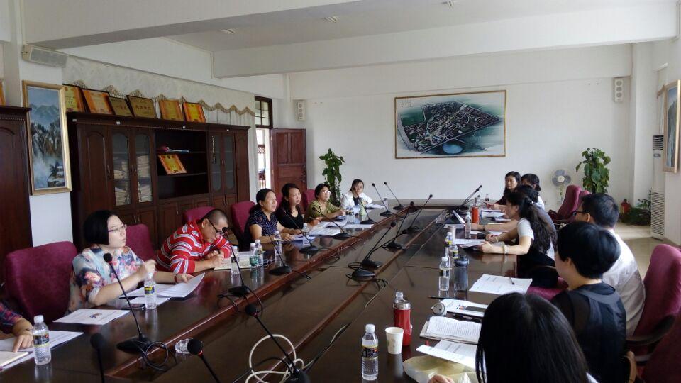 外国语学院与海南外院职业学院就3+2合作项目进行商谈