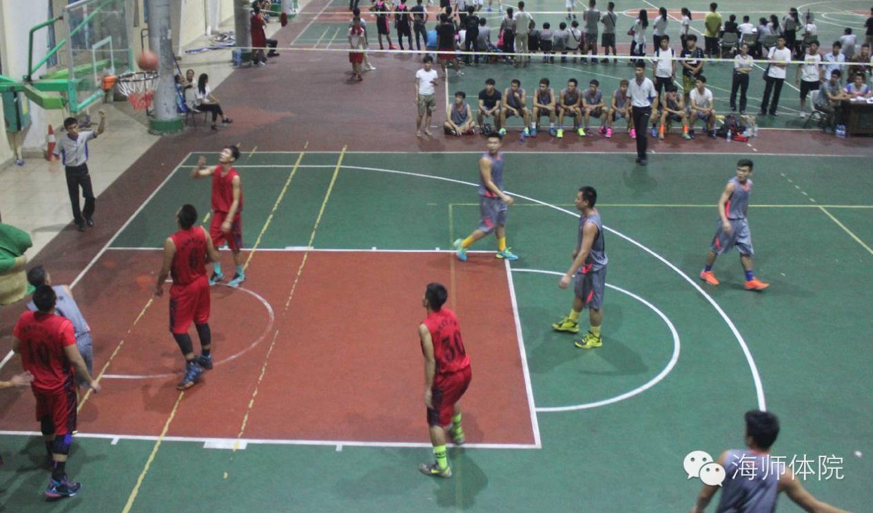 """体育学院""""迎新杯""""篮球赛正式开幕_海南师范大学"""