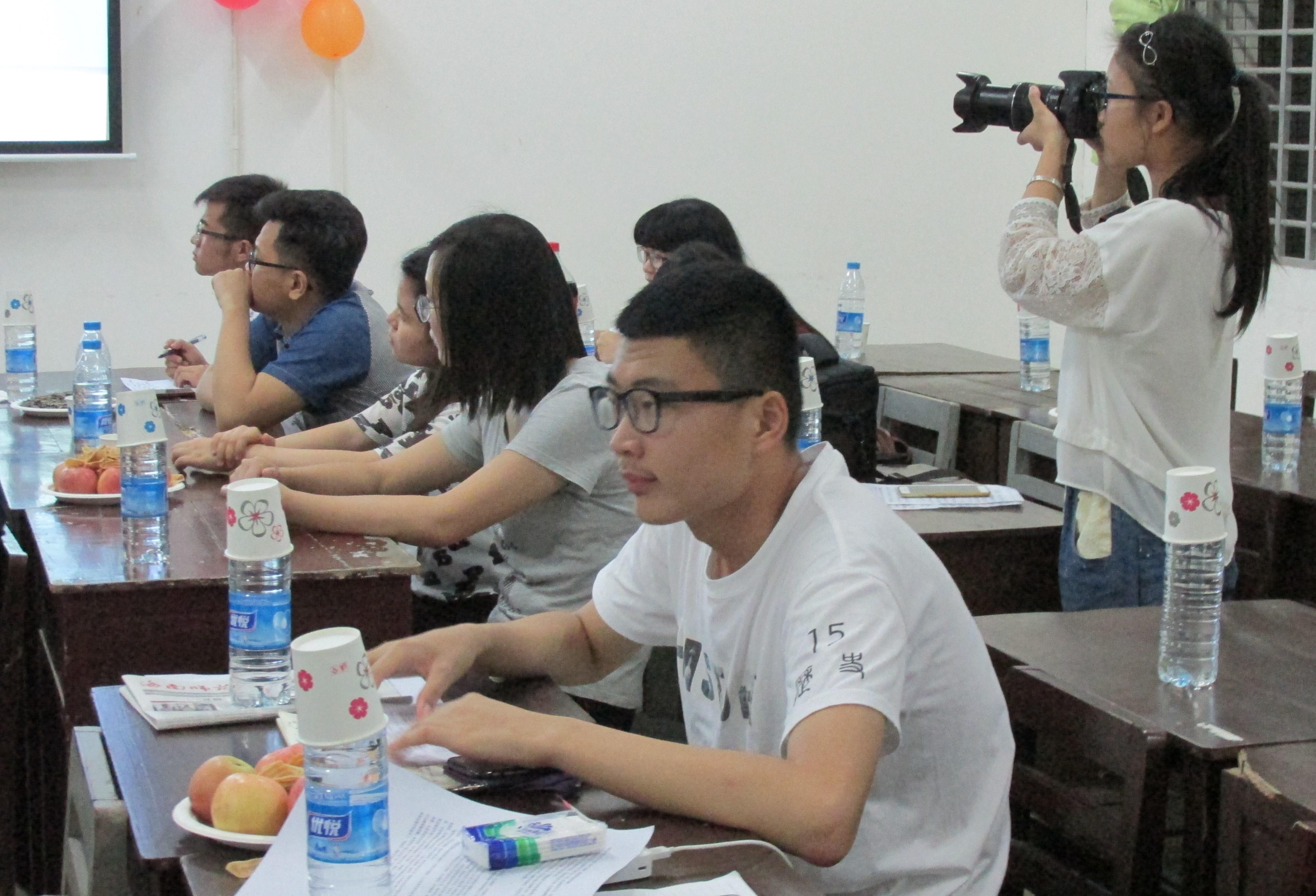 博采众长,共同进步――记桂林洋高校区三校记者团交流活动