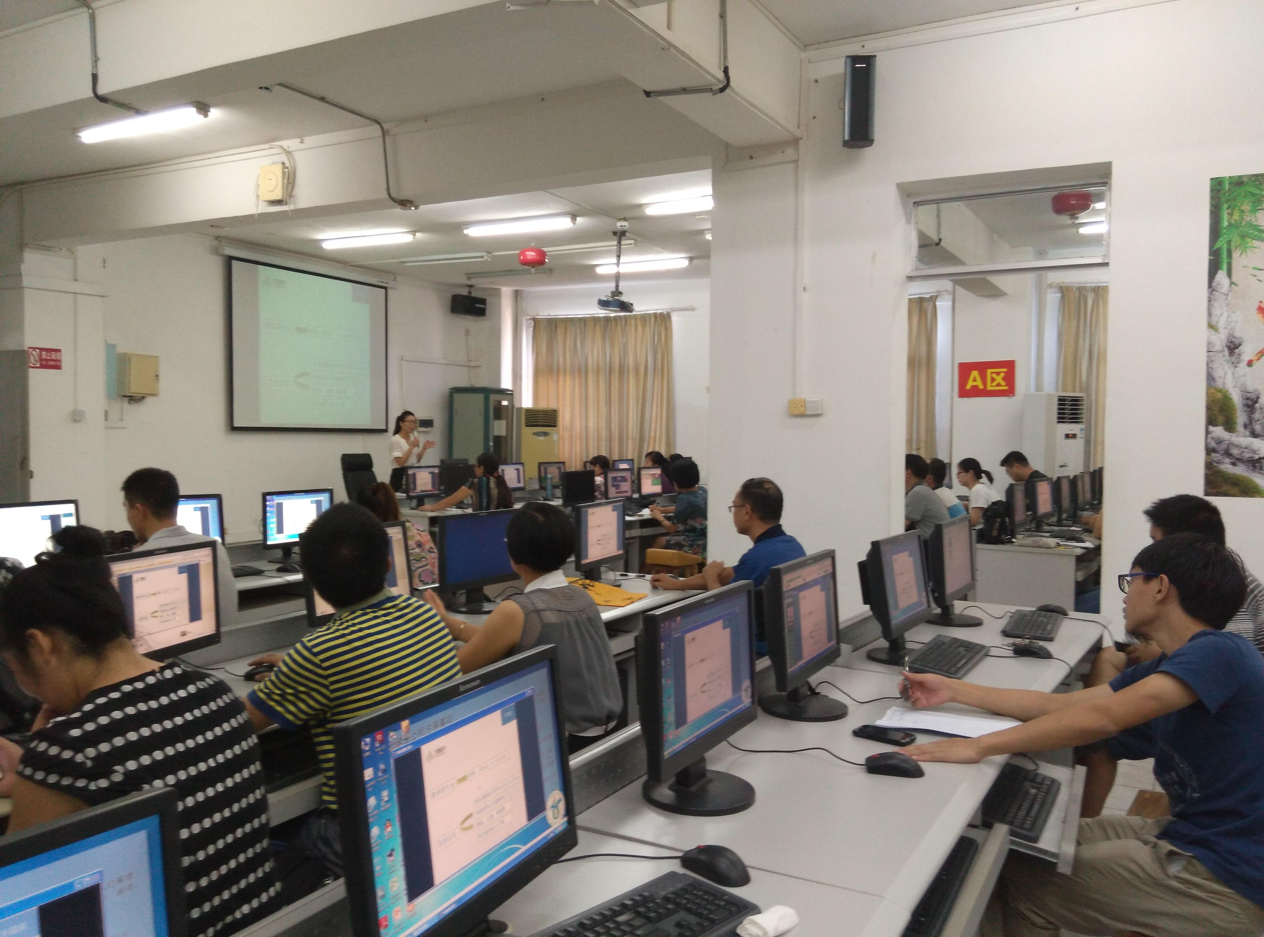 教务处举办智慧树网线上教学资源使用培训