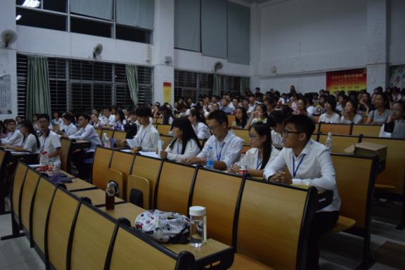 招才纳新 新的起航——记化学与化工学院团委学生会2016招新大会
