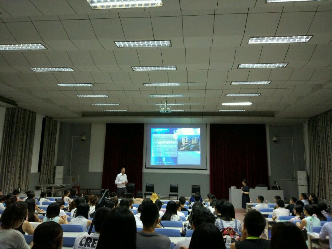 旅游学院举办旅游企业宣讲会