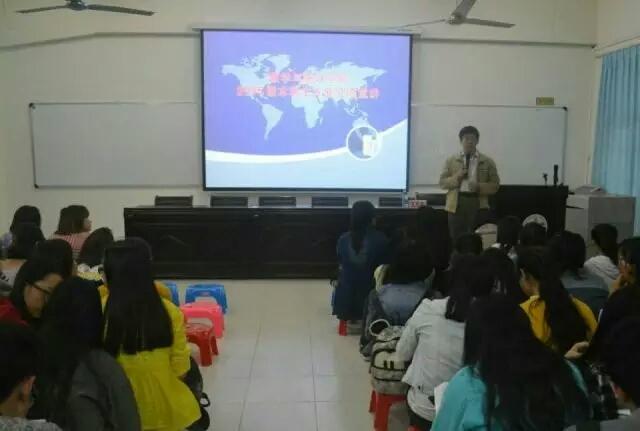 探索数学专业,明确人生方向――记海南师范大学数学与统计学院专业分流讲座