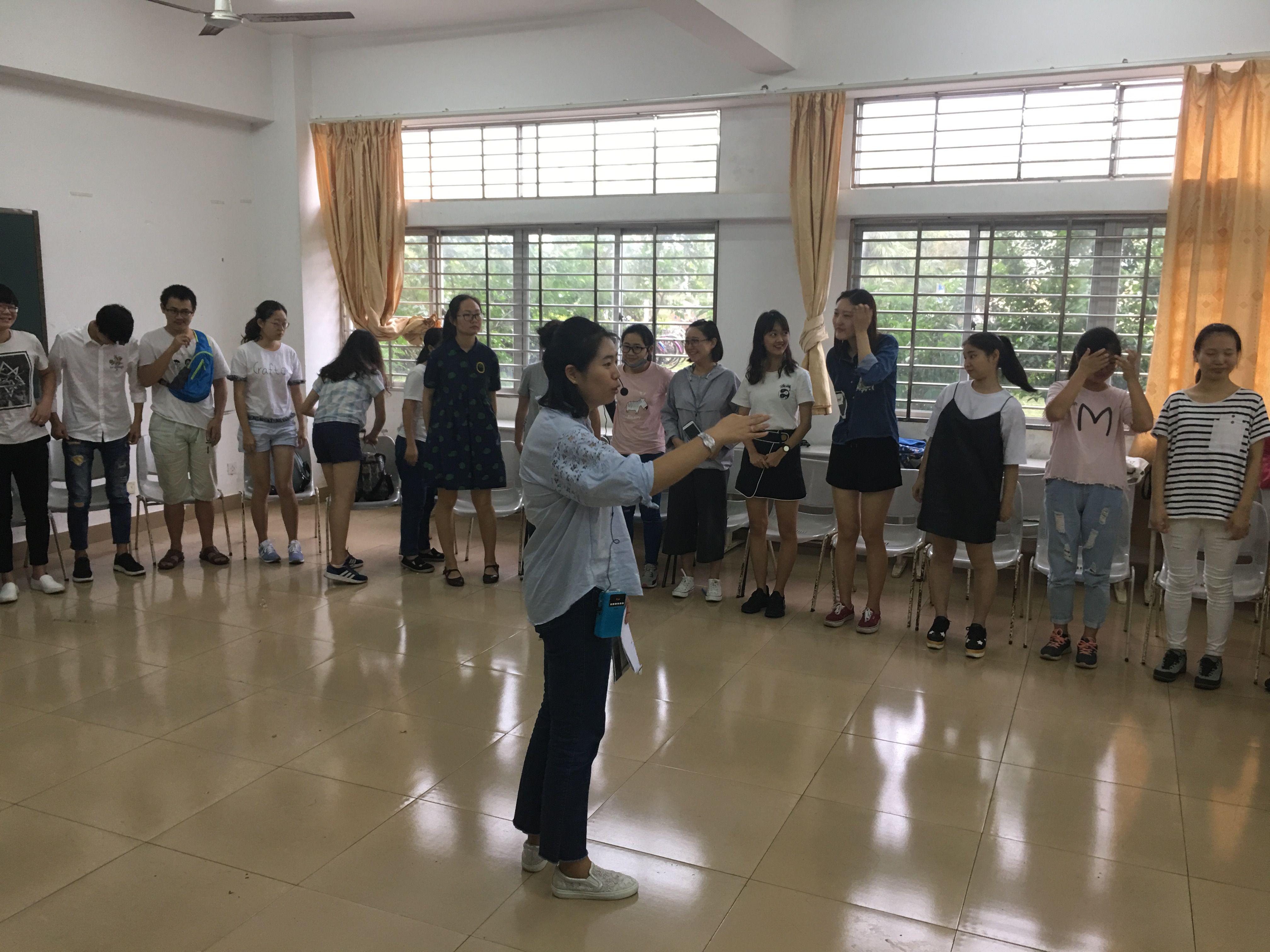 青年之声·记新闻传播与影视学院2016级文史法7班团体心理辅导活动