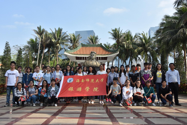 青年之声·旅游学院赴李硕勋烈士纪念亭开展清明祭扫活动