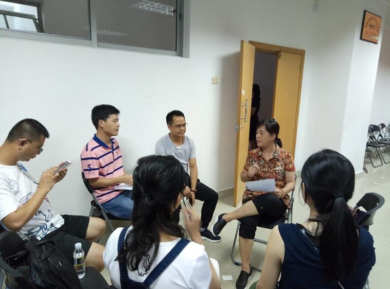 """外国语学院开展""""大研讨大行动""""专题学习会议"""