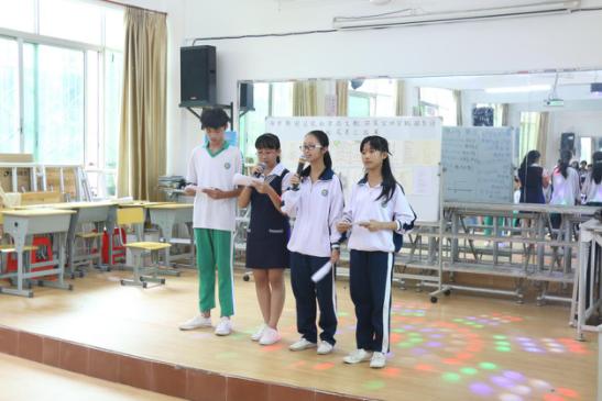 海师赌博导航网暑期社会实践团队于海南澄迈二中举办爱心支教课堂成果演出