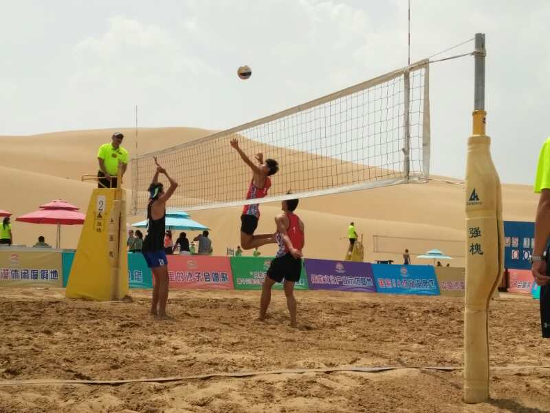 我校男女沙排获第十三届中国大学生沙滩排球锦标赛亚军