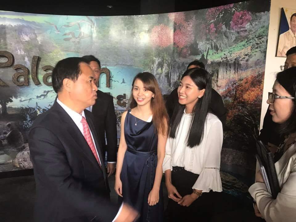 我校承办的菲律宾巴拉望省汉语培训班顺利开班