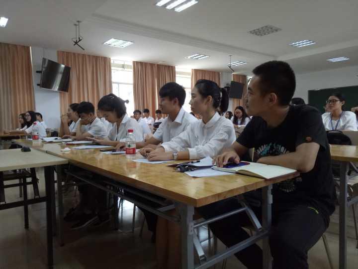 青年之声•文学院2017-2018学年学生会学生干部见面大会