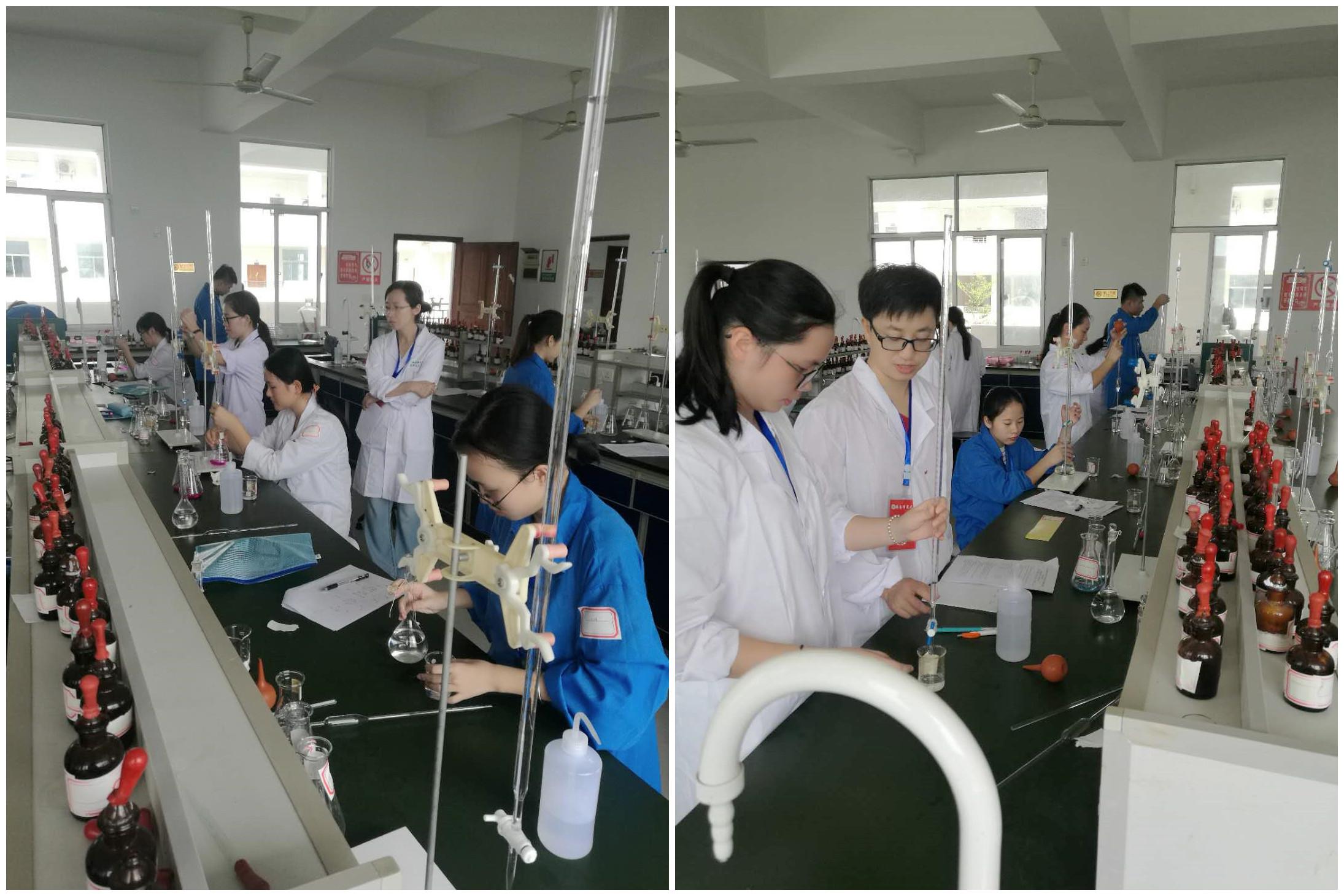 省高校第一届大学生化学实验技能竞赛在我校举办