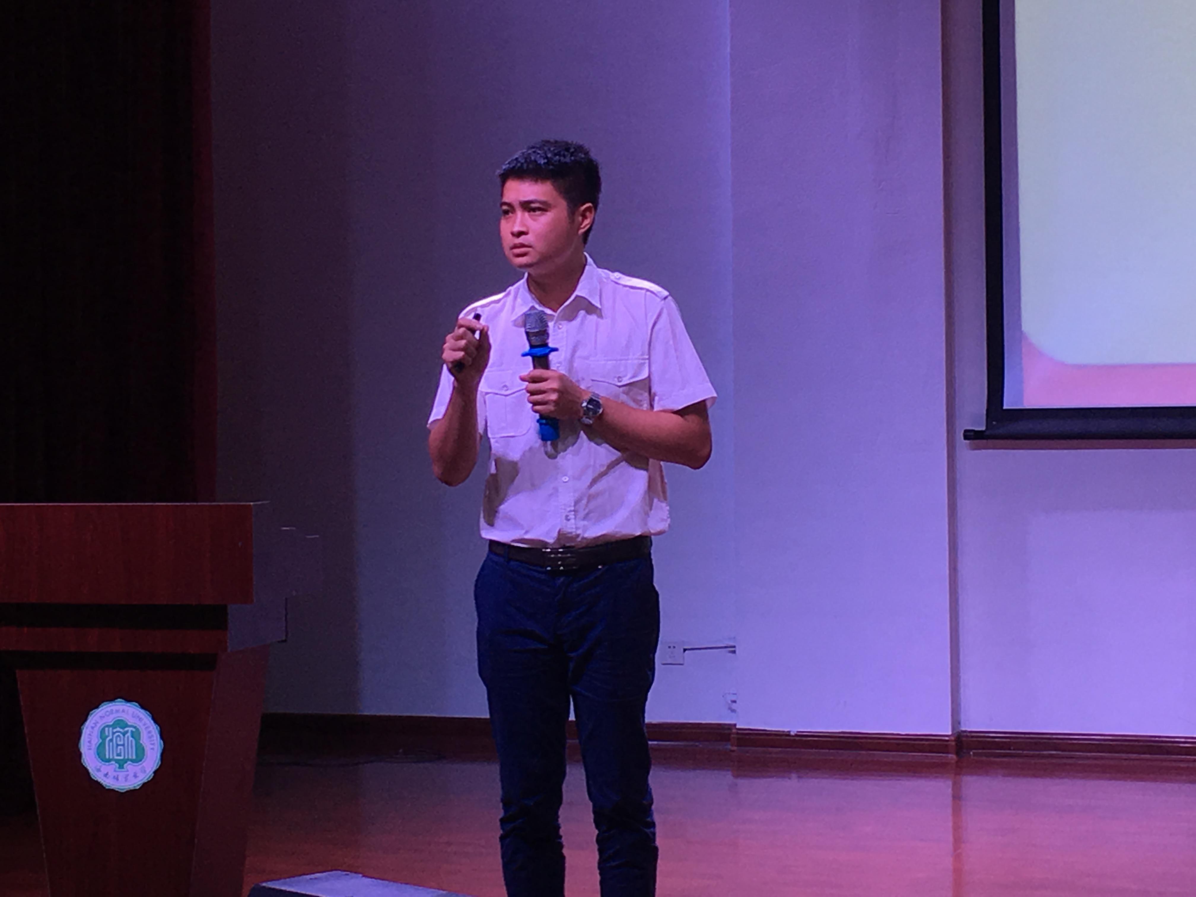 青年之声·与信仰对话 文学院2017-2018学年第一学期消防安全知识讲座