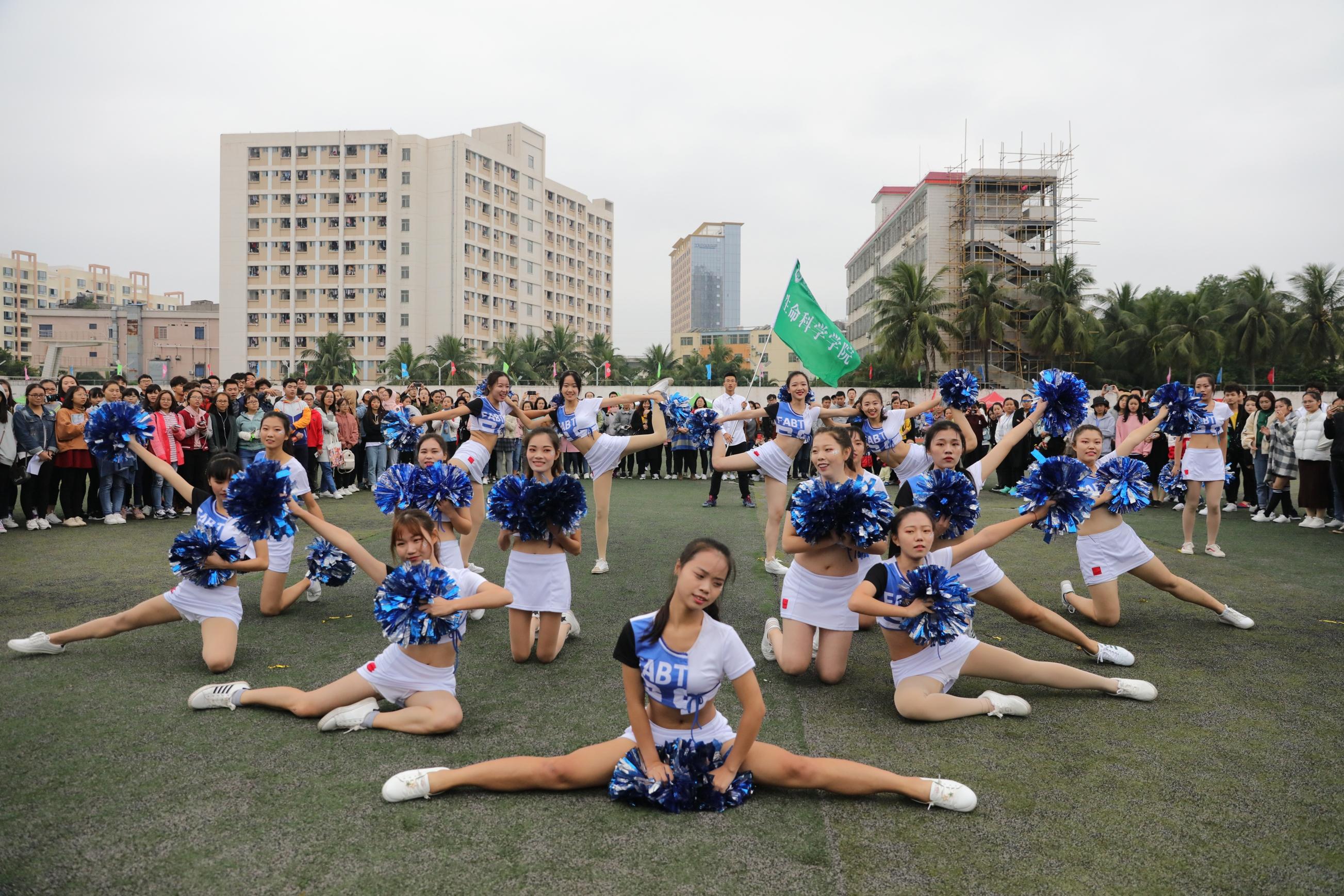 【第34届运动会】花絮:他们眼中的校运会