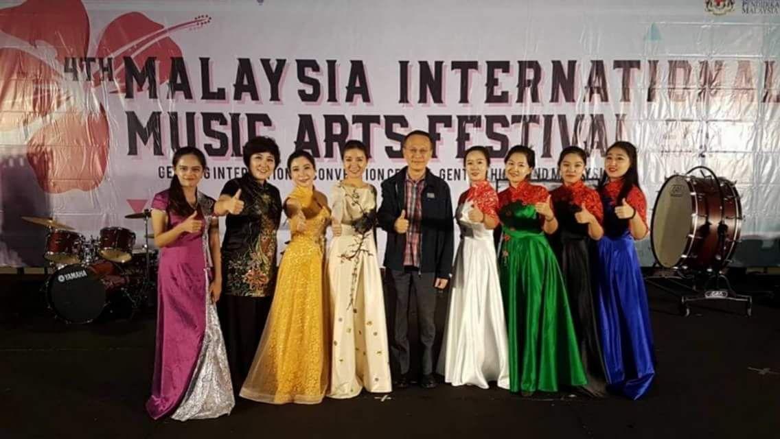 音乐学院民乐团受邀参加第四届马来西亚国际音乐艺术节