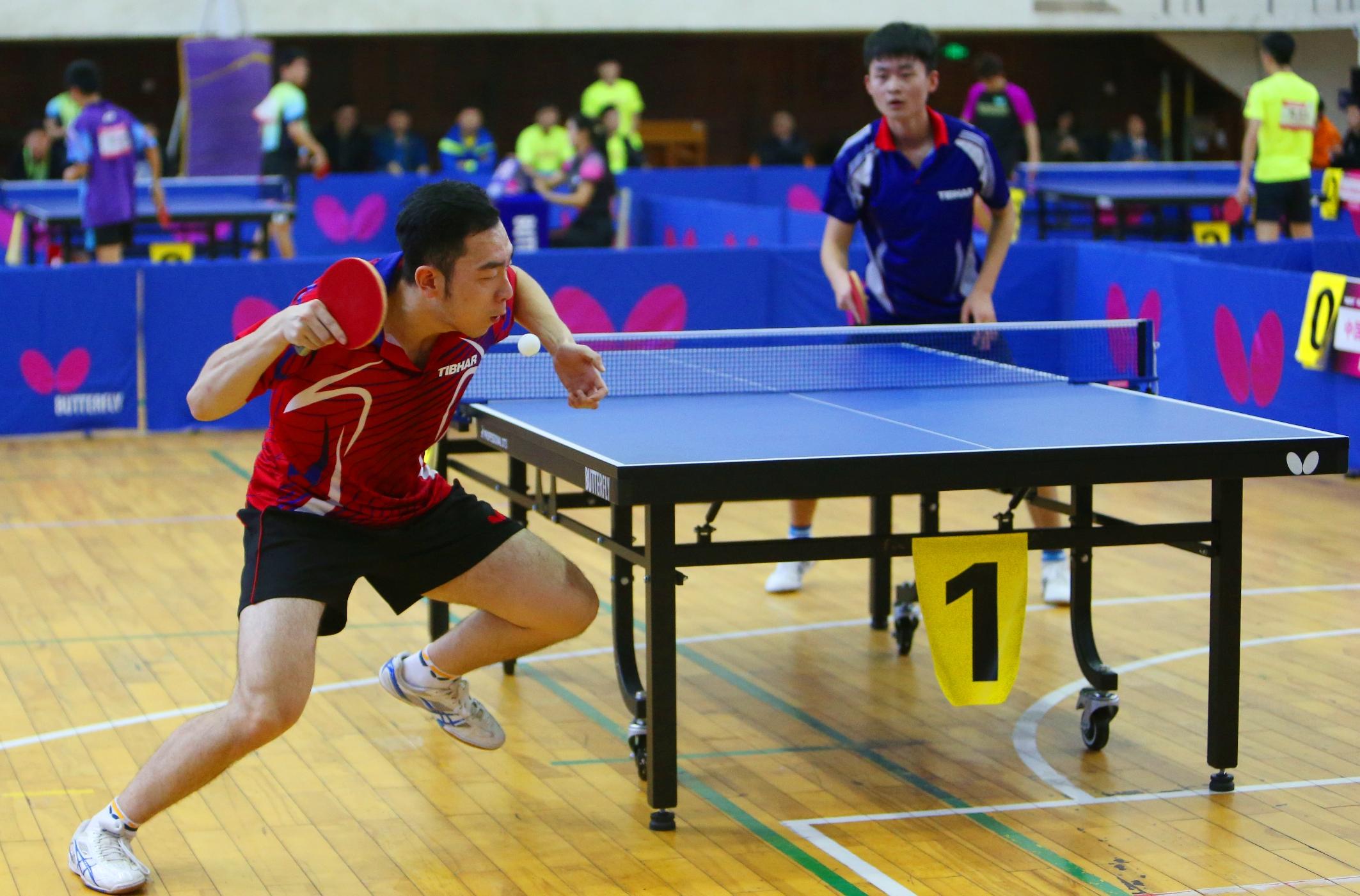我校承办海南省大学生乒乓球优秀选手邀请赛