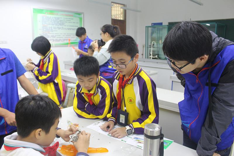 青年之声・志愿琼小,暖和传递――记物理跟电子工程学院琼山一小志愿服务活动
