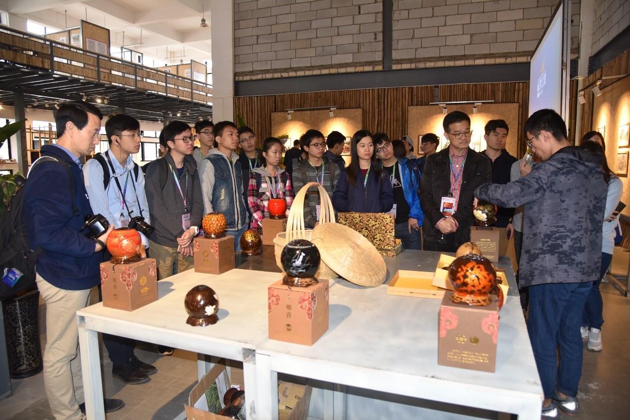 香港新一代文化协会来我校科技园参观交流