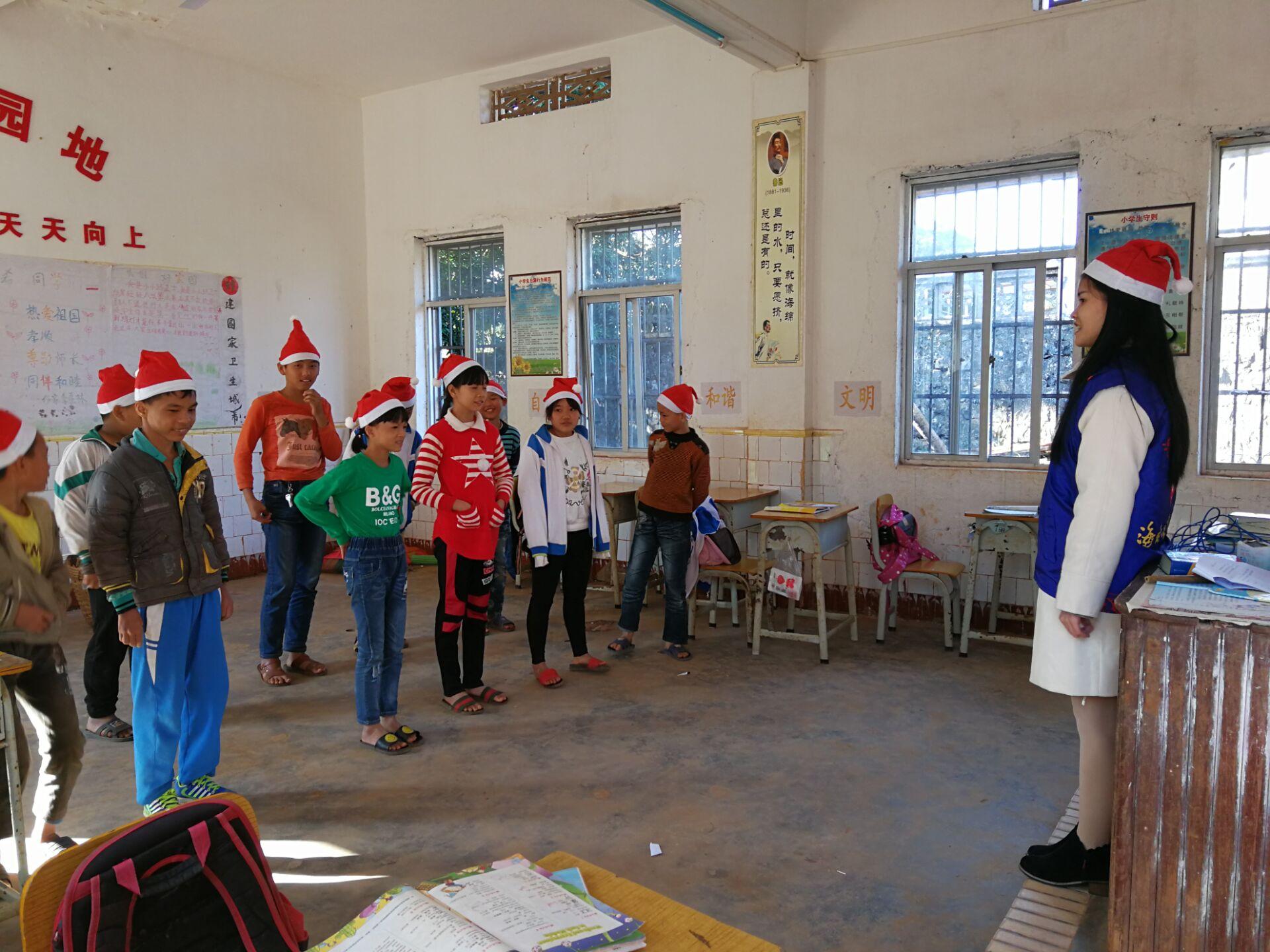 """青年之声·记马克思主义学院""""竹蜻蜓""""志愿服务活动"""