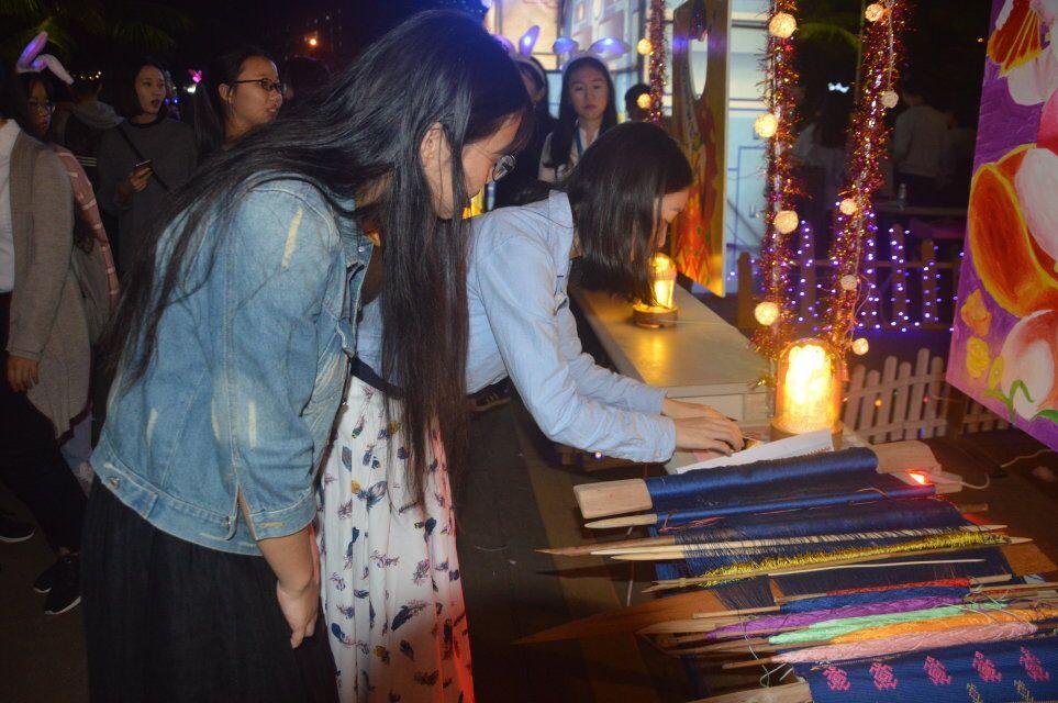 青年之声﹒教育与心理学院举办元旦游园活动
