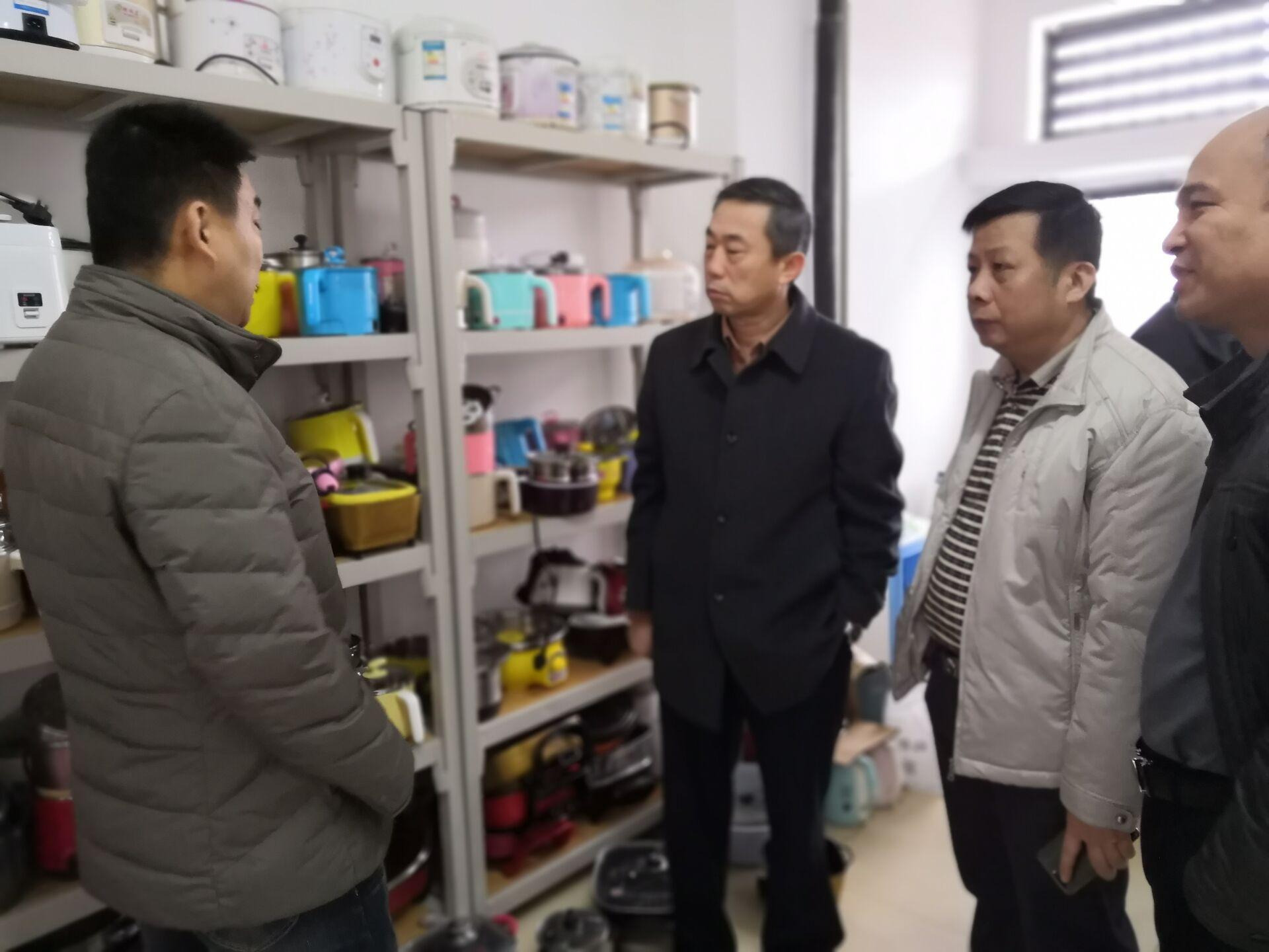 史海涛副校长到桂林洋校区调研