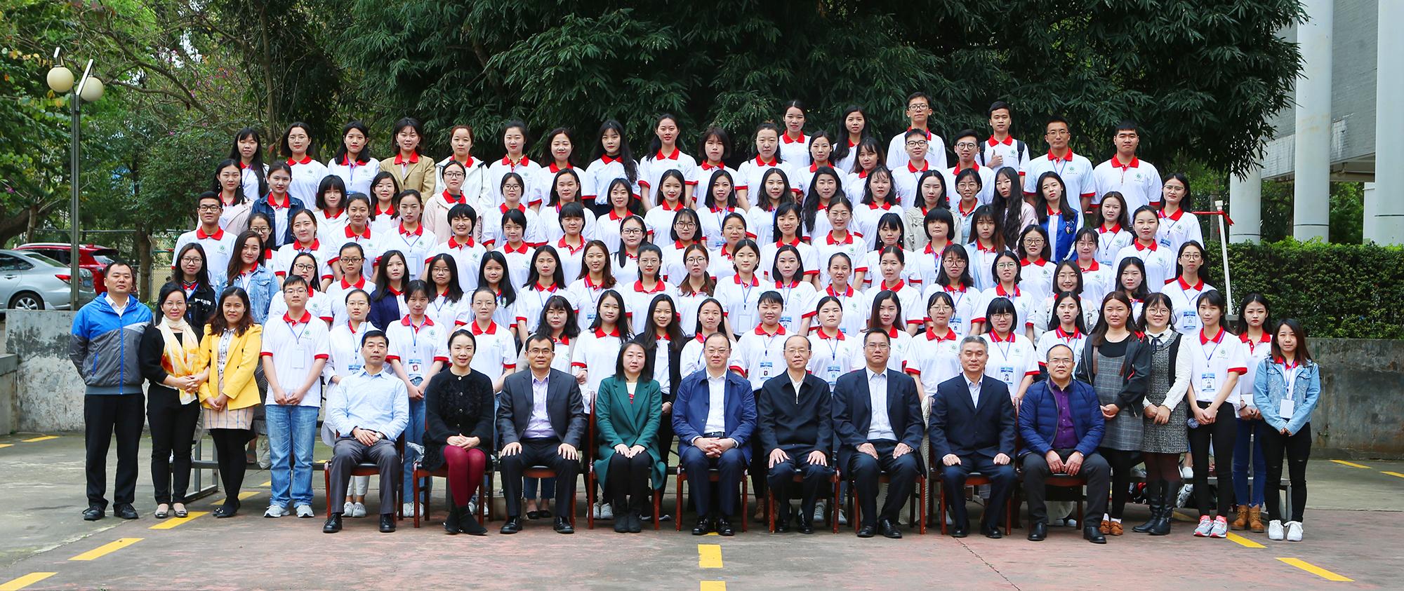 2018年赴泰国汉语教师志愿者在我校岗前培训