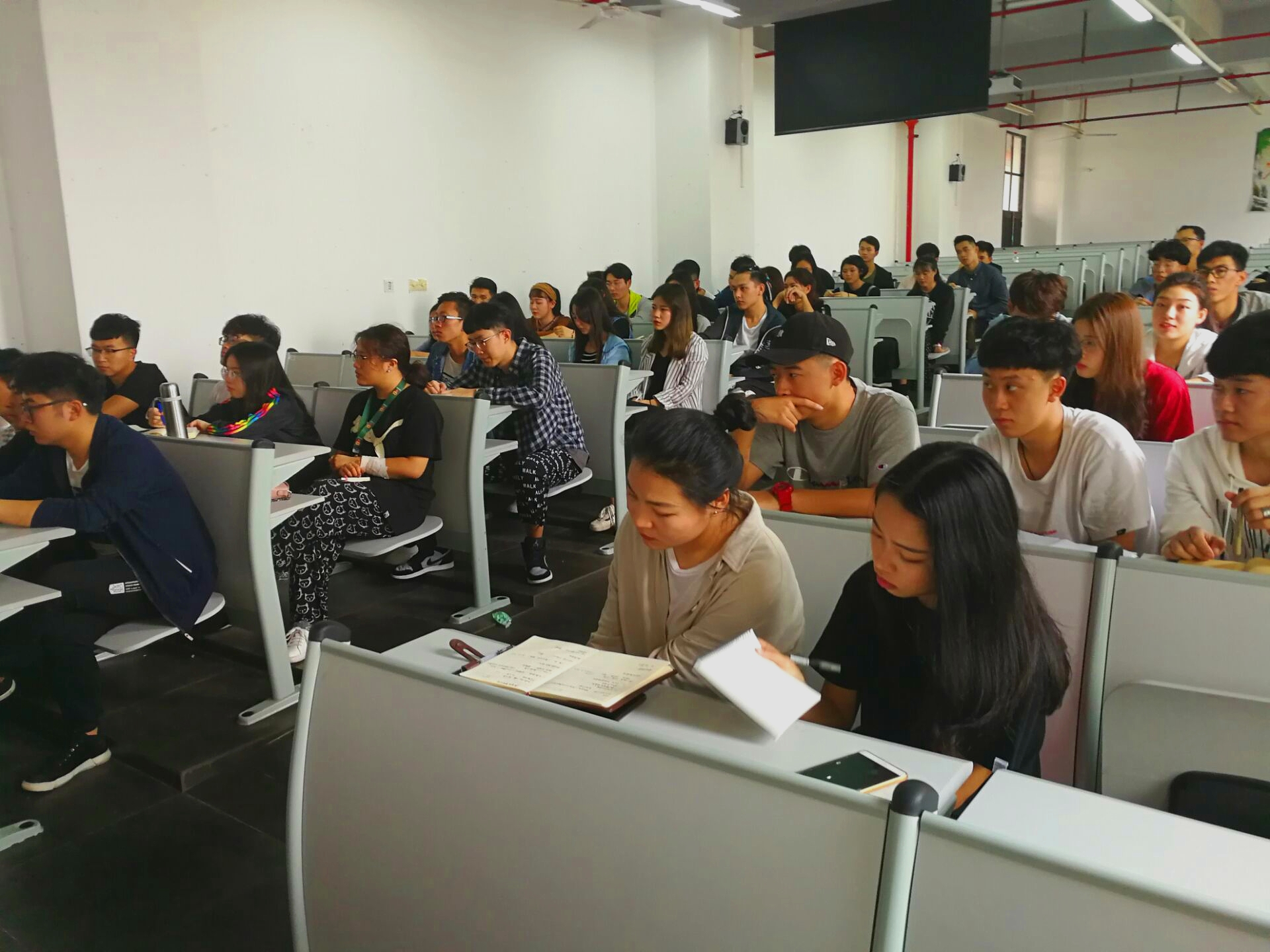 青年之声·美术学院2018年团委开学例会