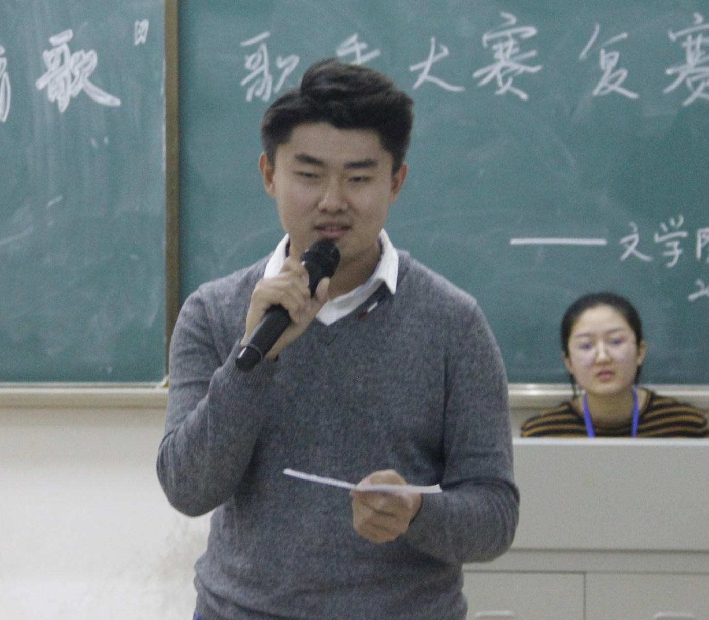 """青年之声·2018文学院""""唱梦晴空,夏已成歌""""歌手大赛复赛"""