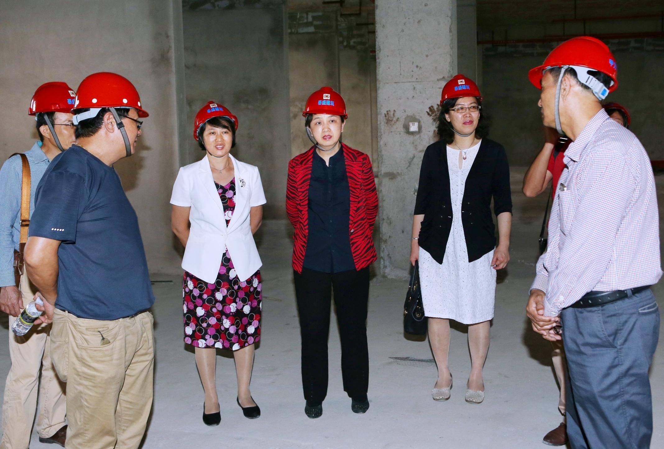 李红梅书记调研桂林洋校区基建项目