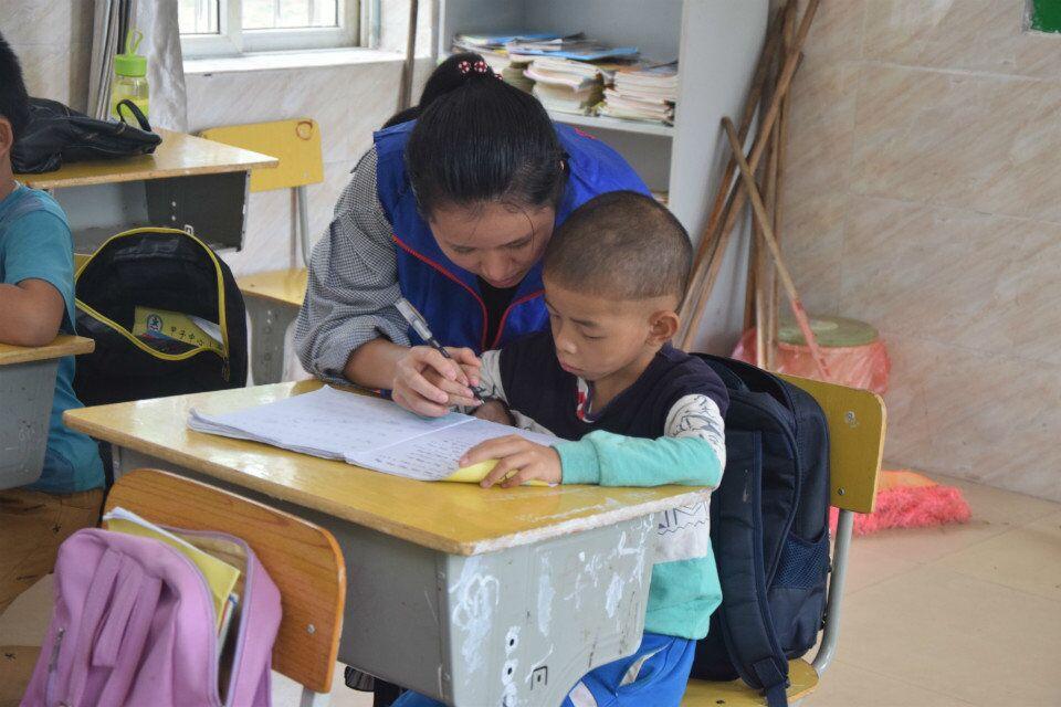 助教传播爱----记长昌助教活动