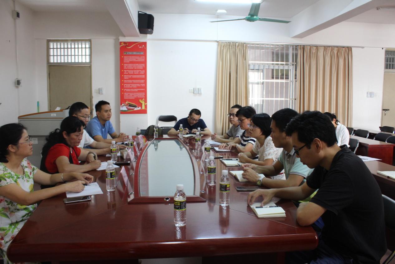 广西民族大学法学院党委书记蒋慧一行访问法学院
