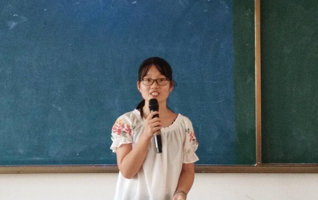 青年之声·记文学院教师技能大赛之板书复赛