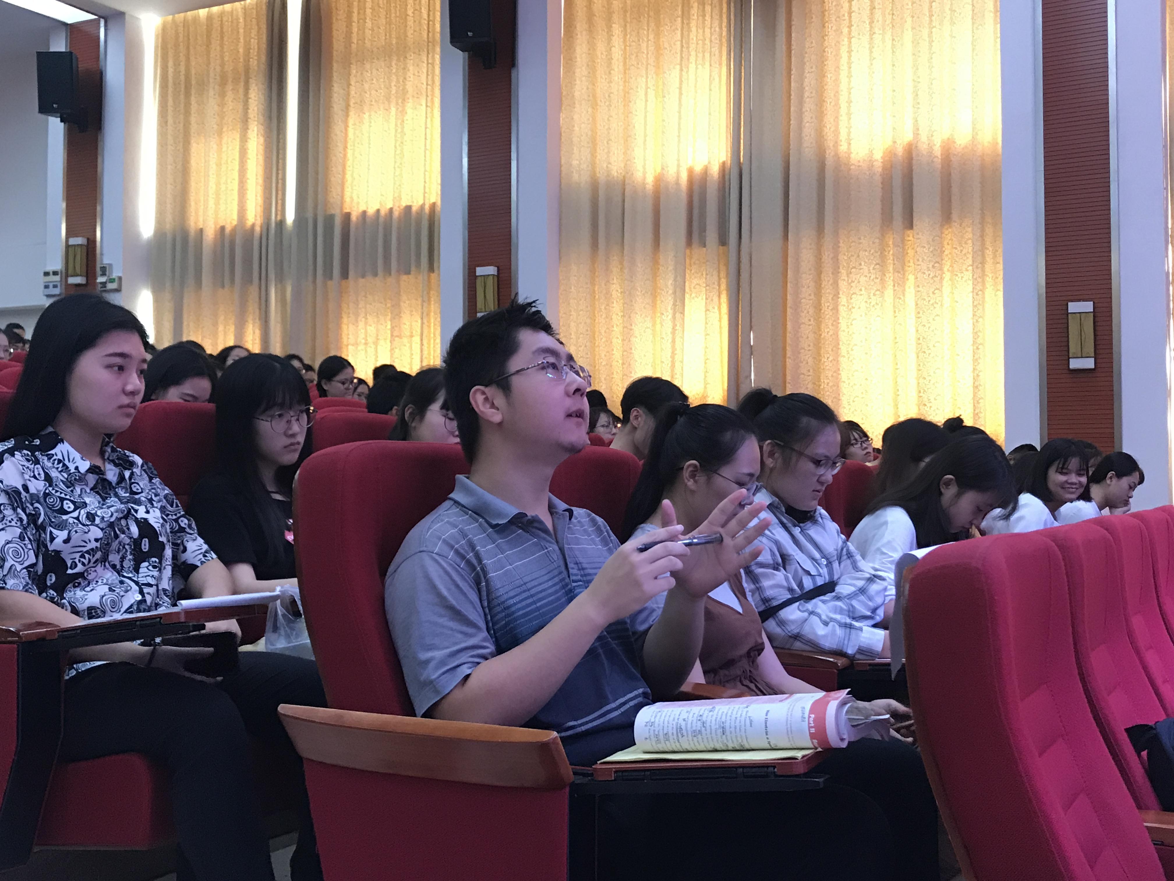 青年之声・记文学院创新创业实践周系列讲座之曹同军创业经验分享会
