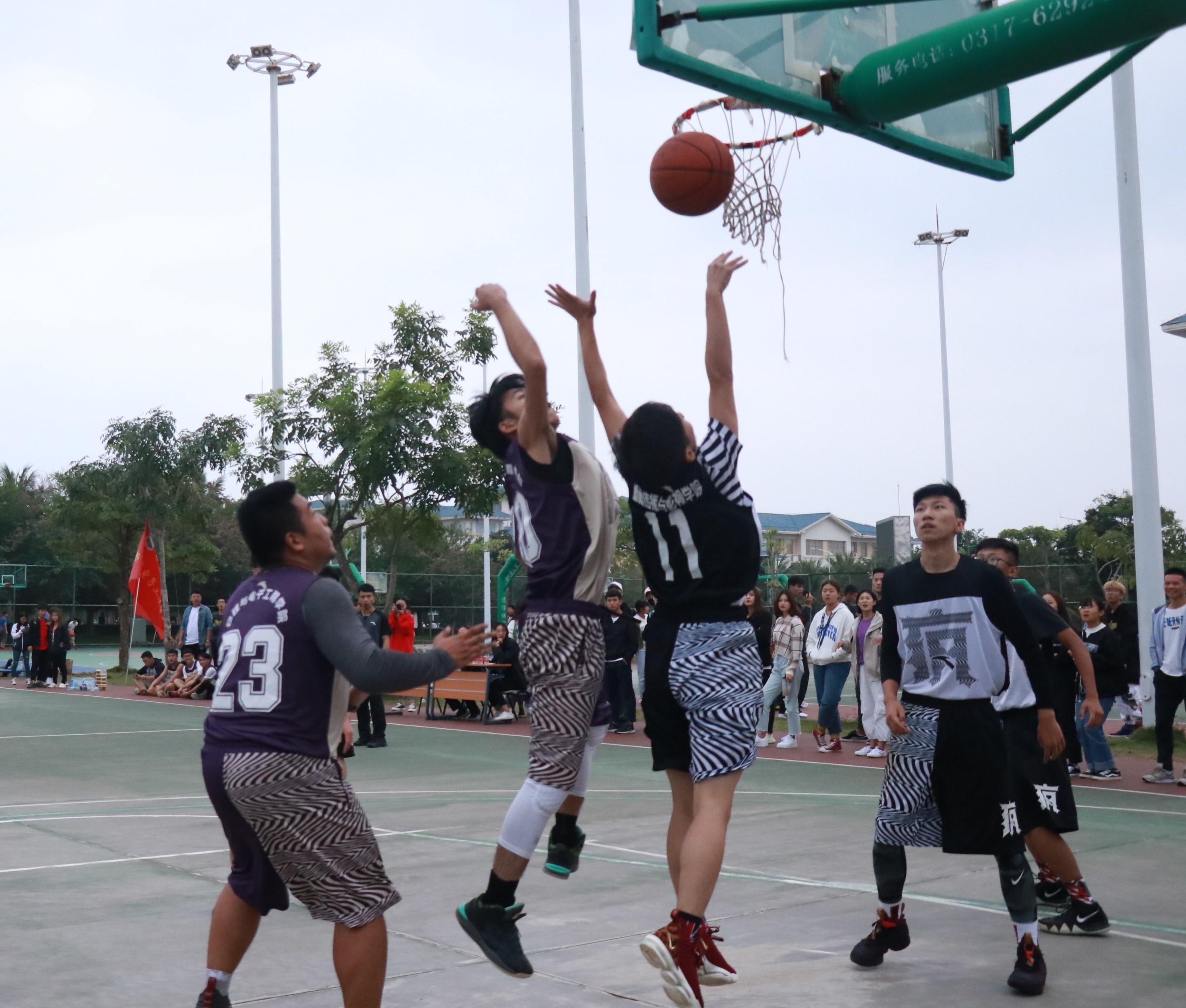 """新闻传播与影视学院在我校""""迎新杯""""篮球赛中取得第四好成绩"""
