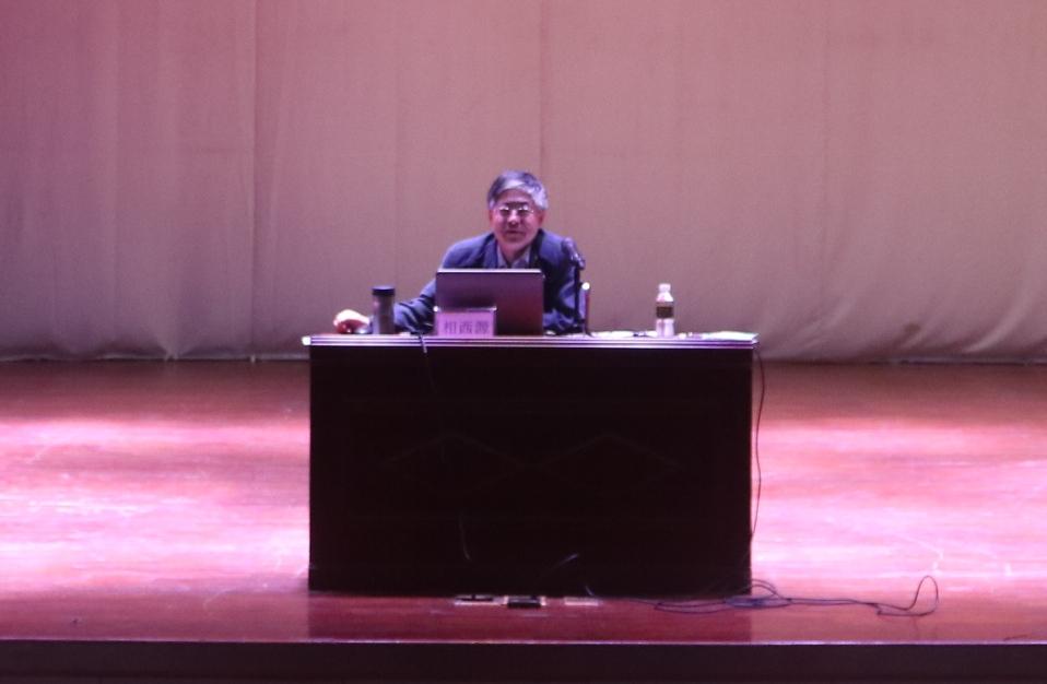 星海音乐学院相西源教授应邀来我校讲学