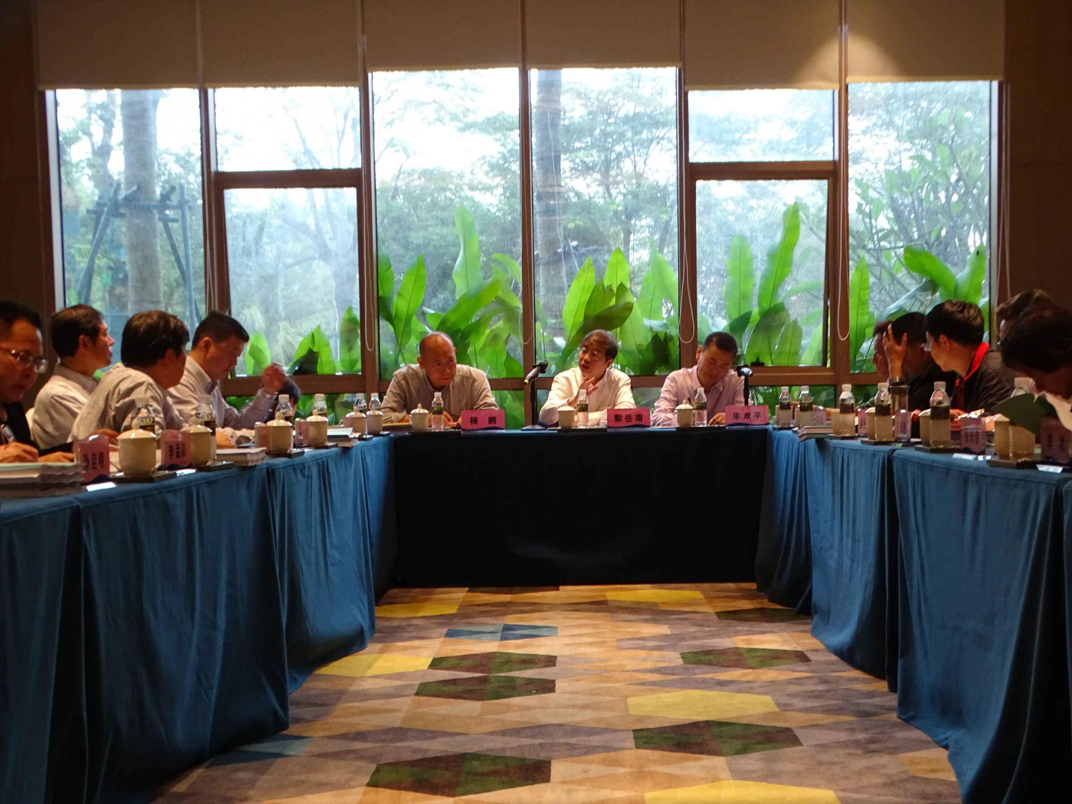 校领导出席海南省新增博硕士学位授予单位£¨授权点£©立项建设规划论证会