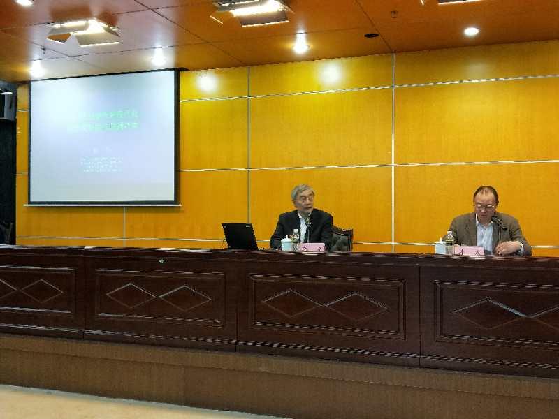 我校邀请国家教育咨询委员会秘书长张力作专题报告