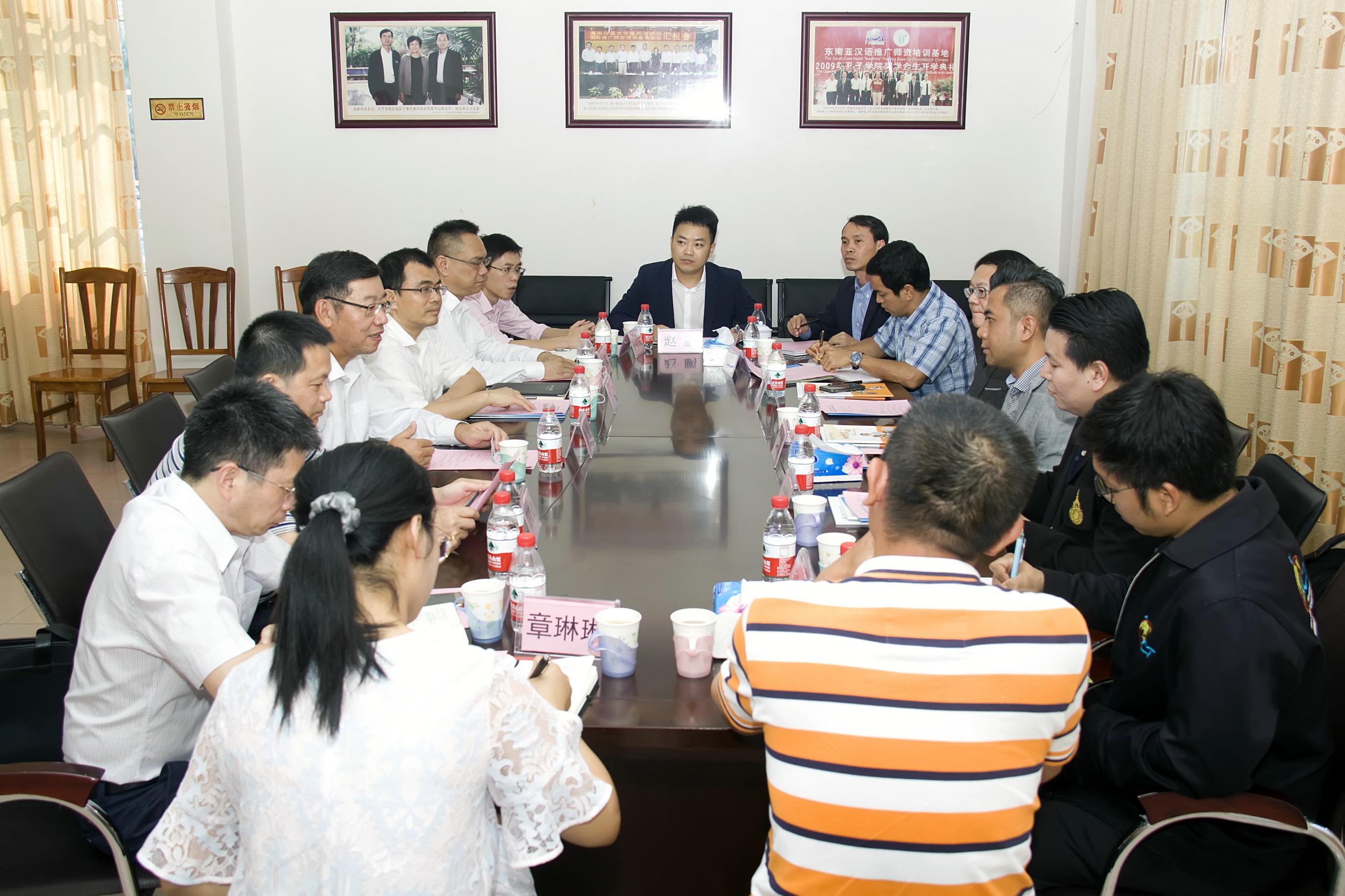 泰国坦亚布里理工大学代表团到访我校