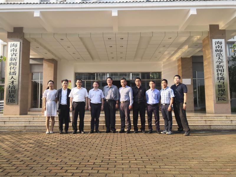 泰国坦亚布里皇家理工大学客人来我院参观访问