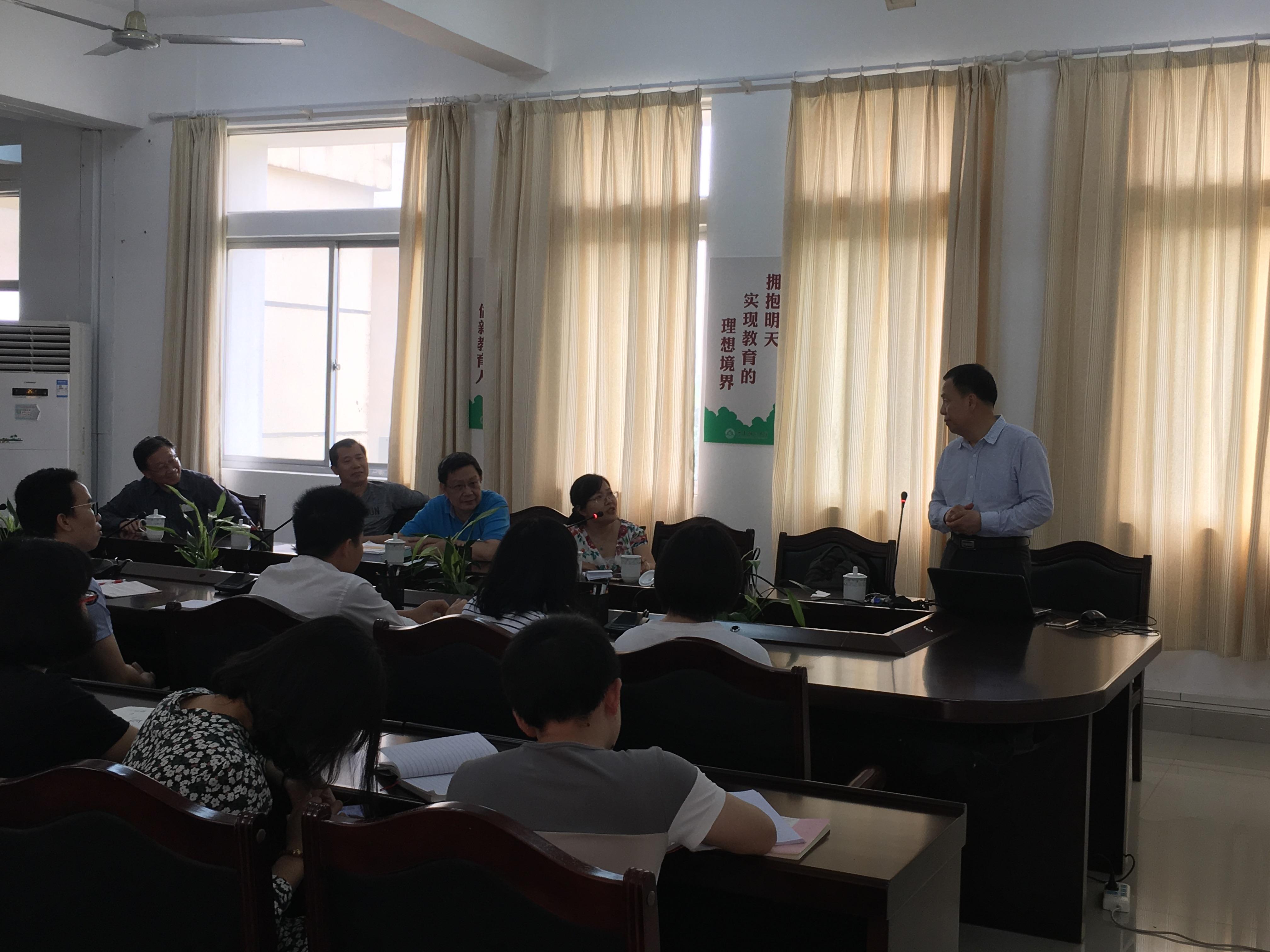 实验室特邀中国科学院上海药物研究所岳建民院士作学术交流