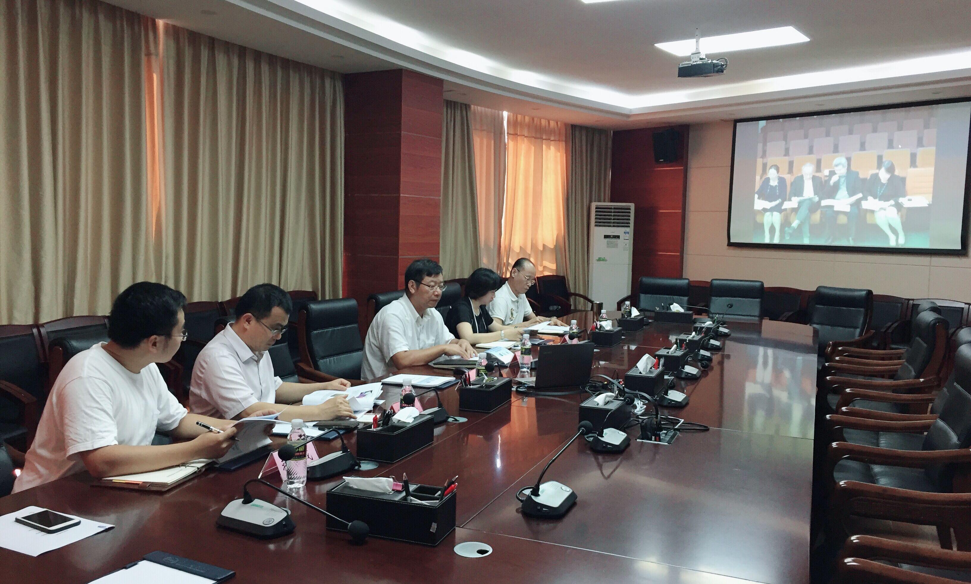 我校与马来西亚世纪大学召开孔子学院第四届理事会