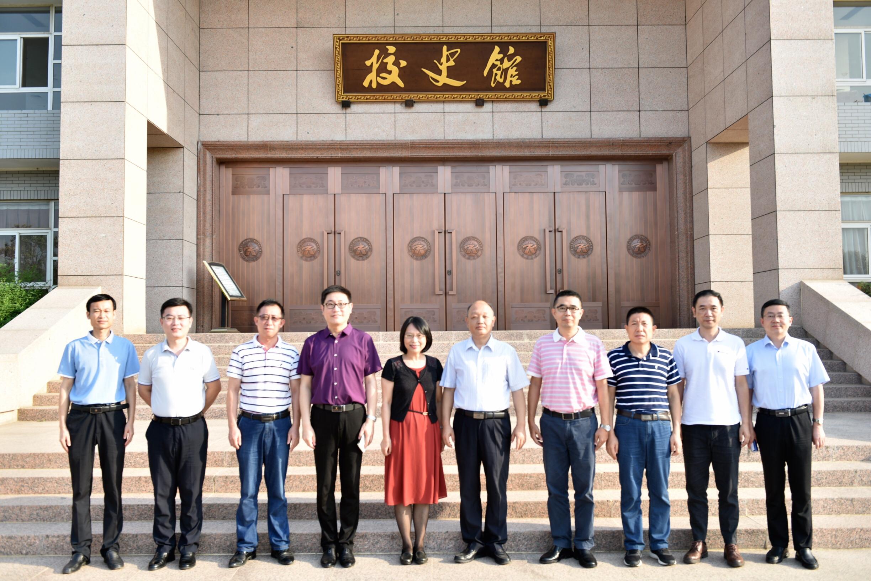 刁晓平带队赴郑州大学、华南师范大学考察调研
