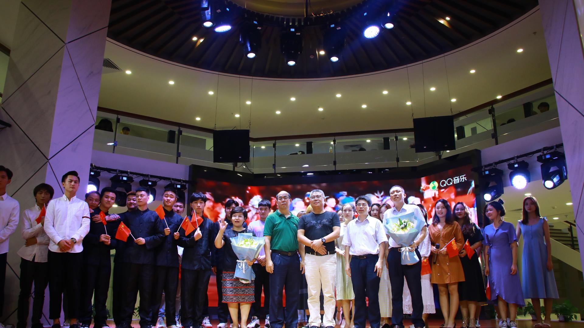 赌博导航网表演专业学生应邀参加海南省图书馆诵读诗会演出活动