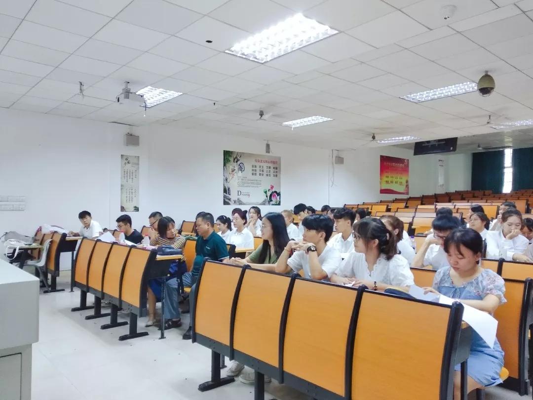 记2019年海南师范大学数学与统计学院迎新活动