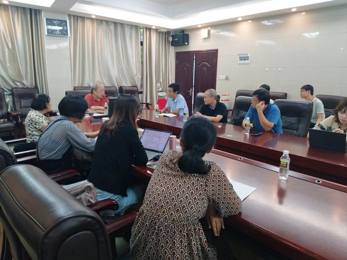 文学院邀请著名语言学家戴庆厦先生做讲座