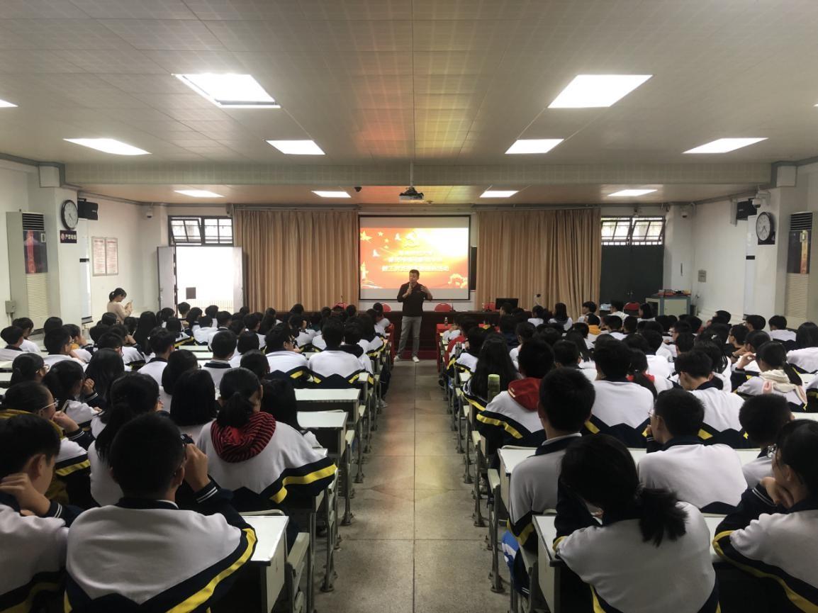 365亚洲最新线路网址教工党支部前往文昌中学开展志愿服务活动