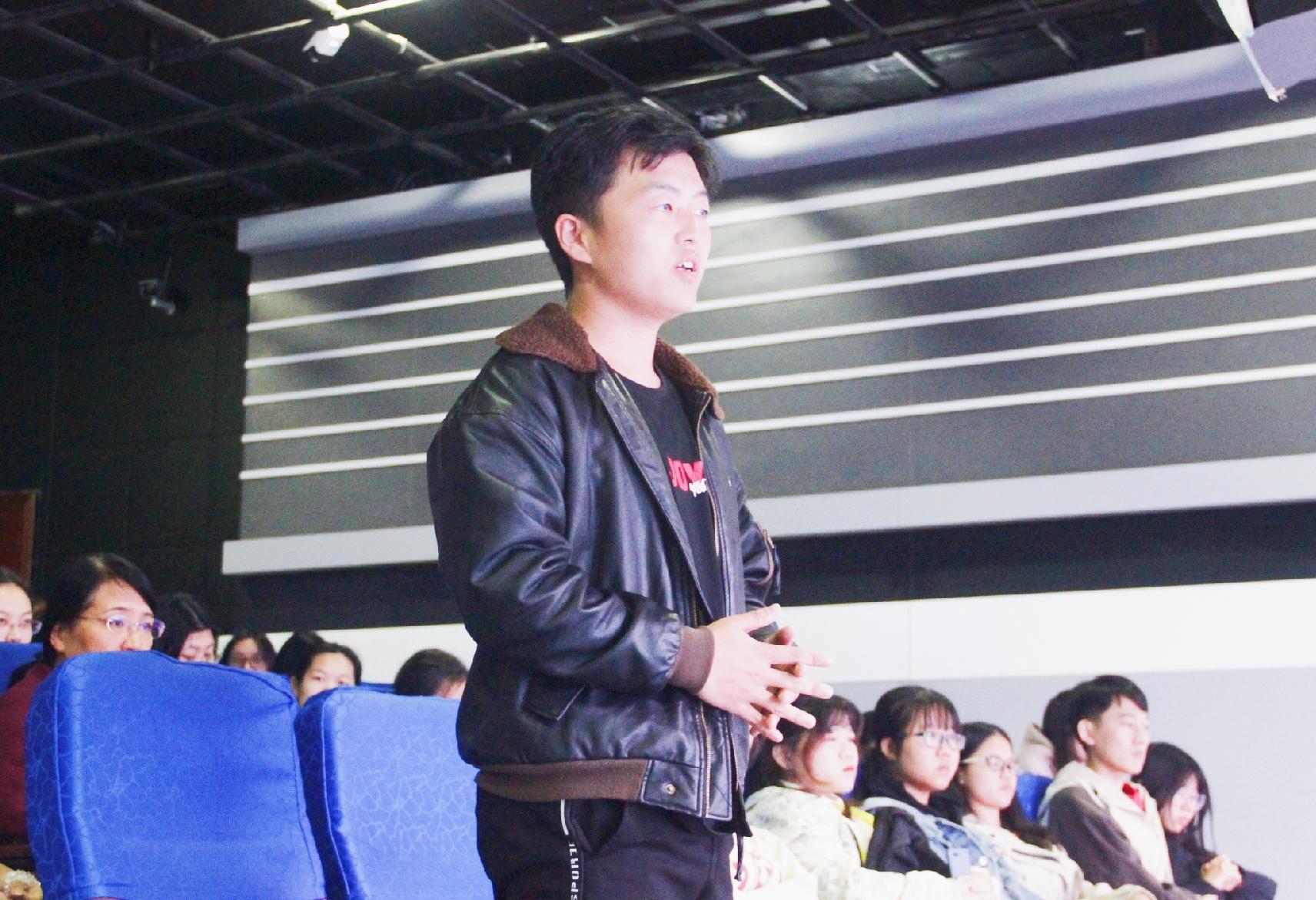 青年之声・记弘扬中华传统文化系列讲座之读书与治学
