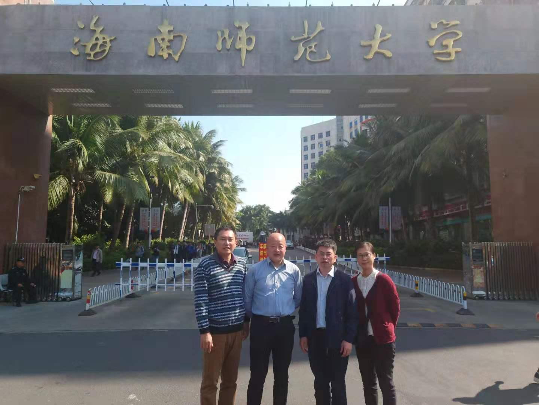 浙江传媒学院国家级实验教学示范中心副主任胡一梁到365亚洲最新线路网址访问