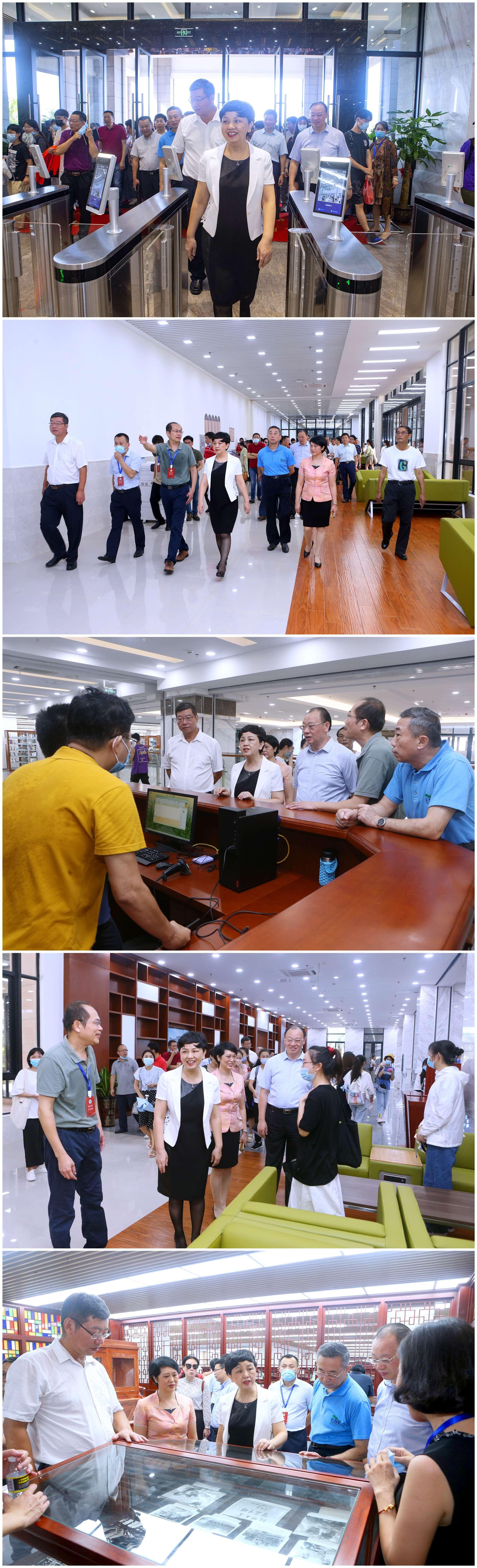 新葡的京集团350vip新图书馆开馆试运行